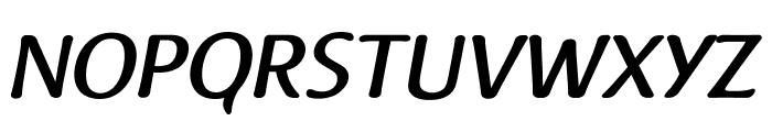 Raspoutine Medium Italic Font UPPERCASE