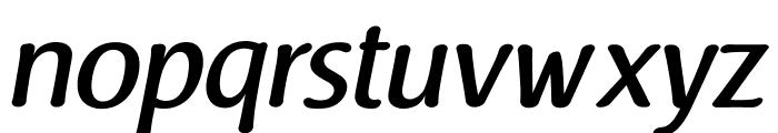 Raspoutine Medium Italic Font LOWERCASE