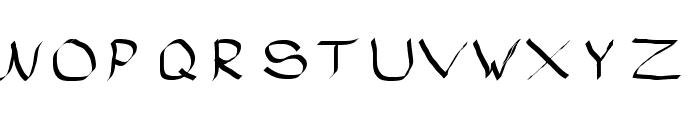 Rasstapp 1.0 2 Font UPPERCASE