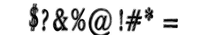Rastalib Font OTHER CHARS