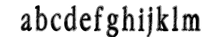 Rastalib Font LOWERCASE
