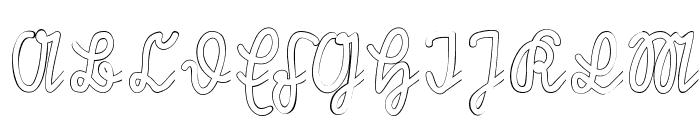 Rastenburg U1SY Font UPPERCASE