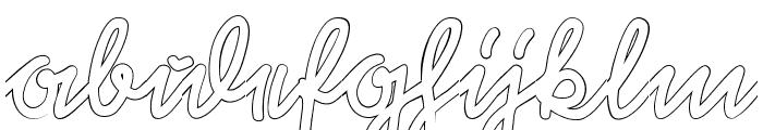 Rastenburg U1SY Font LOWERCASE