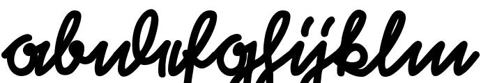 RastenburgU1SY-Bold Font LOWERCASE