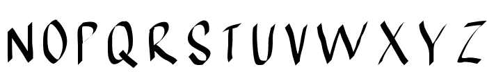 RatiodrinkFont Font UPPERCASE