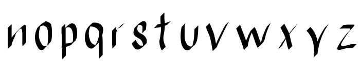 RatiodrinkFont Font LOWERCASE