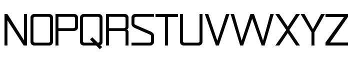 Rational Integer Font UPPERCASE