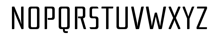 RationaleOne-Regular Font UPPERCASE