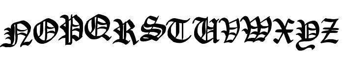 Raubtier Font UPPERCASE