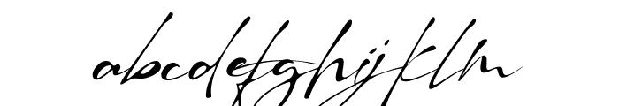 Raullina Aguste Font LOWERCASE