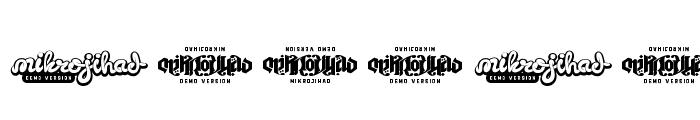 RavenScriptDEMO Font OTHER CHARS