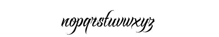 RavenScriptDEMO Font LOWERCASE