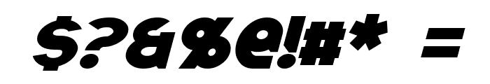 Ravenwood Italic Font OTHER CHARS