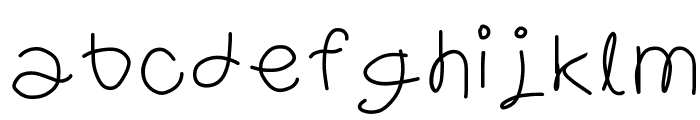 Ravioli Font LOWERCASE