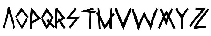 RawDeltaHandStreet Font LOWERCASE