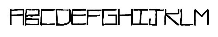 RawDiet Font UPPERCASE