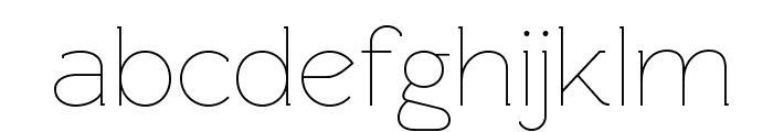 Rawengulk Light Font LOWERCASE