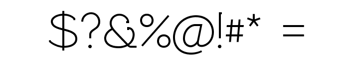 Rawengulk Regular Font OTHER CHARS