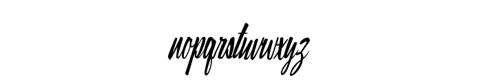 Ray Morgan Style Font LOWERCASE