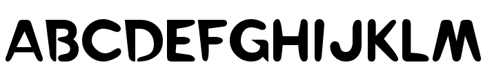 RayGun Font UPPERCASE