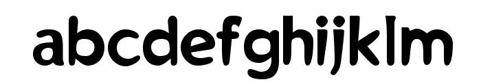 RayGun Font LOWERCASE
