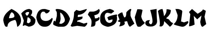 Rayman Adventures Font UPPERCASE
