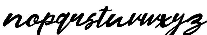 Razan Script Italic Font LOWERCASE