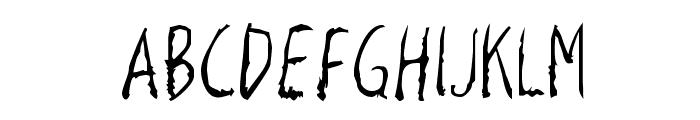 Razor Keen Font UPPERCASE