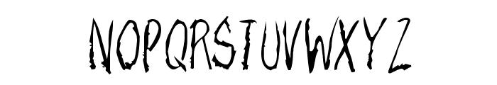 RazorKeen-Regular Font UPPERCASE