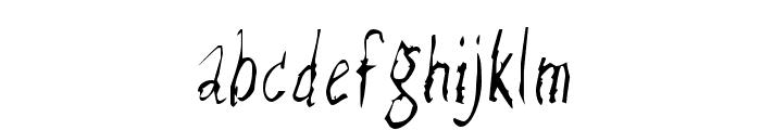 RazorKeen-Regular Font LOWERCASE