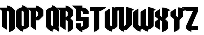 Razorclaw Font UPPERCASE