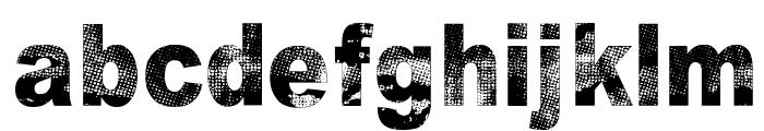 Razterhunch Font LOWERCASE