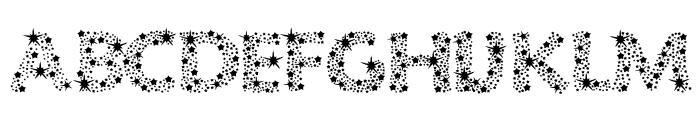 Razzle Dazzle Font UPPERCASE