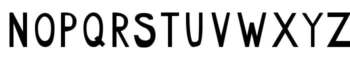 radar_two Font UPPERCASE