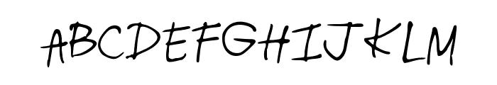 radhi4 Font UPPERCASE