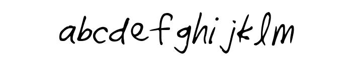 radhi4 Font LOWERCASE