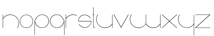 radiance Font UPPERCASE