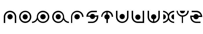 radion Font UPPERCASE
