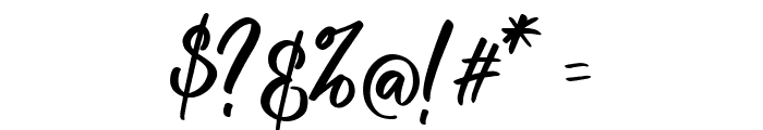 raustila Font OTHER CHARS