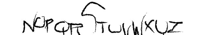 raw Font LOWERCASE