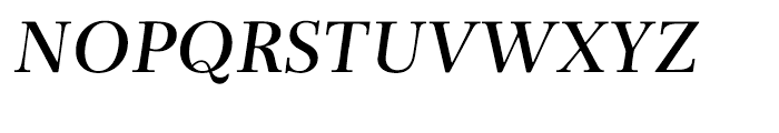 Rabenau Semibold Italic Font UPPERCASE