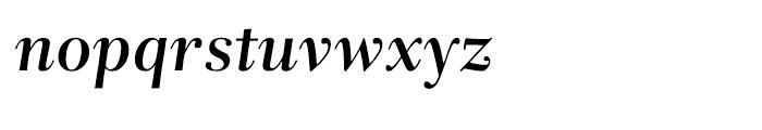 Rabenau Semibold Italic Font LOWERCASE