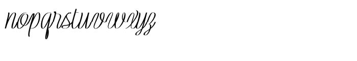 Rachele Ribbon Black Condensed Font LOWERCASE