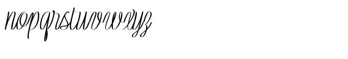 Rachele Ribbon Black Ultra Condensed Font LOWERCASE