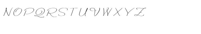 Rachele Ribbon Expanded Font UPPERCASE