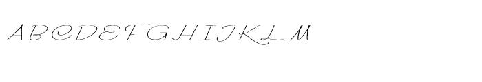 Rachele Ribbon Super Font UPPERCASE