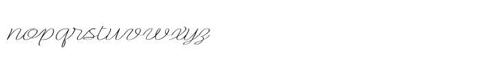 Rachele Ribbon Super Font LOWERCASE