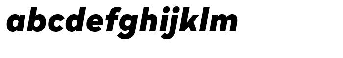 Radikal Black Italic Font LOWERCASE