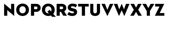 Radikal Black Font UPPERCASE