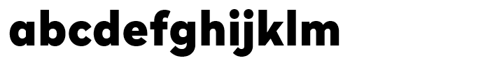 Radikal Black Font LOWERCASE